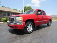2004 GMC Sierra Extended Cab 4x4. Z71 Package, Powered