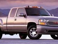 Boasts 17 Highway MPG and 13 City MPG! This GMC Sierra