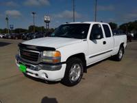 Summit White 2004 GMC Sierra 1500 SLE 4WD 4-Speed