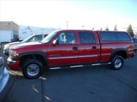Four (4) Wheel Drive, Tow Package, Camper Shell.,