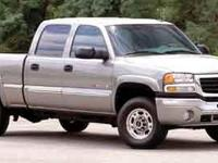 Introducing the 2004 GMC Sierra 2500HD! A great vehicle