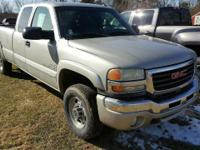 2004 GMC Sierra 2500HD EXT CAB 4WD 143.5. Serving the
