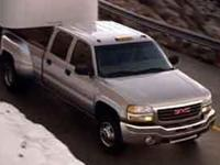 This GMC Sierra 3500 delivers a Turbo-Charged Diesel V8
