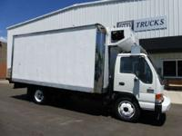 Reefer Trucks Reefer Trucks. GVWR Hydraulic Brakes
