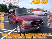 Yukon XL SLT 1500, Vortec 5.3L V8 SFI Flex-Fuel, and
