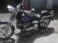2004 custom Springer softtail, custom paint job, Harley