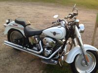 2004 Harley Davidson Fatboy with 10,445 miles in good