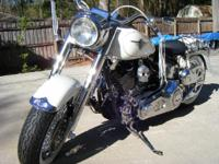 2004 Harley Davidson FLSTF Fat Boy Custom. This is a HD