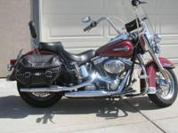 2004 Harley Davidson FLSTF Softail. Like New!! Has been