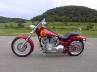 2004 Harley Davidson FXST Softail. Fitted With A