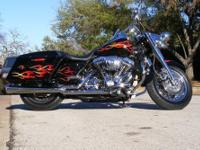 2004 Harley Davidson Custom Road King, only thing stock