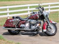 This Beautifully Customized 2004 Harley Davidson Road