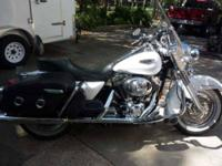 2004 Harley Davidson Road King This classic cruiser has