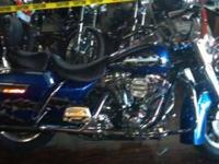 2004 Harley Davidson in Excellent Condition Blue and