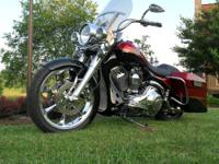 2004 Harley Davidson Road King - 18,850 miles, Clear