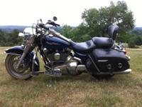 2004 Harley Roadking Motorcycle - $11,000 88 ci 10,500