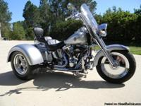 2004 Harley FLSTF FatBoy Hot Rod Trike with Crazy Horse
