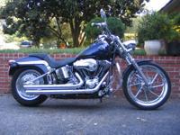 2004 Harley Davidson FXSTBI Fuel Injected Night Train.