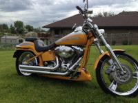 This is a beautiful 2004 Harley Davidson Screamin'