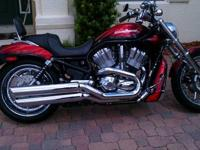 2004 Harley Davidson V-Rod with 9,487 Miles. The
