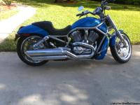 2004 Harley Davidson V-Rod , Blue & Sliver for