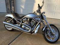 2004 Harley Davidson VRSCA V-Rod motorcycle. Always