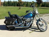 2004 Harley FXDWGI Dyna Wide Glide. 24,250 miles.