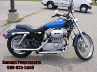 2004 Harley Davidson Sportster XL883 Custom for sale.