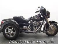 2004 Harley FLHTPI Lehman Trike with 22,050 Miles This