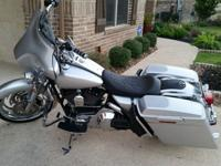 Selling a 2004 HD Road King FLHR with only 6500+ miles.
