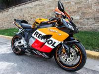 This 2004 Honda 1000RR4 CBR is super clean! The bike