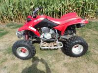 2004 Honda 400ex for sale. This quad was brought to me