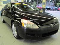 ** V6 ** MANUAL TRANS ** MOONROOF ** LEATHER ** BLACK