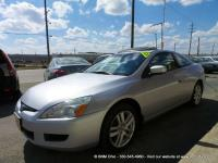 CARFAX 1 OWNER 2004 Honda Accord EX-L Coupe with