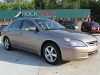 Options Included: N/A2004 Honda Accord EX 4 dr. sedan.