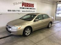 Options:  2004 Honda Accord 2.4 Ex|The Car You've