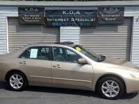 This 2004 Honda Accord EX-L V6 is loaded with all the