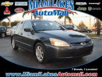 *** MIAMI LAKES CHEVROLET *** 3.0L V6 SOHC VTEC 24V and