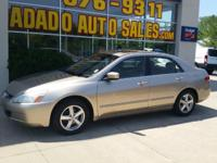Options:  2004 Honda Accord Visit Adado Auto Sales