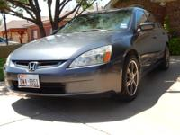 2004 HONDA Accord - Gray exterior with gray cloth
