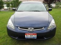 2004 Honda Accord LX with only 24,888 miles from new.