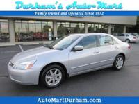 Carfax Certified Honda Accord! Leather Heated Seats!