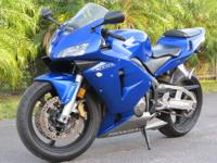2004 honda cbr 600rr, never laid down , original paint,