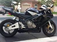 2004 Honda CBR 600RR great condition, only 5,425 miles,