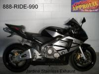 2004 Honda CBR600RR for sale only 14,483 miles! Nice