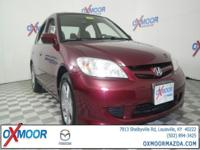 2004 Honda Civic EX CARFAX One-Owner. Odometer is 73860