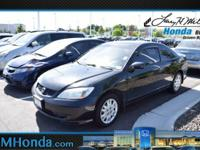Grab a deal on this 2004 Honda Civic LX before someone