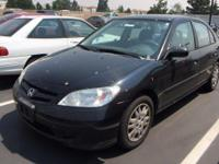 Come see this 2004 Honda Civic LX. Its Automatic