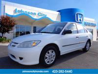 2004 Honda Civic Sedan EX Our Location is: Johnson City