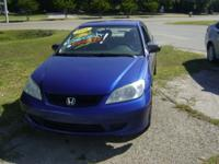 Options Included: N/AThis is a sporty little honda with